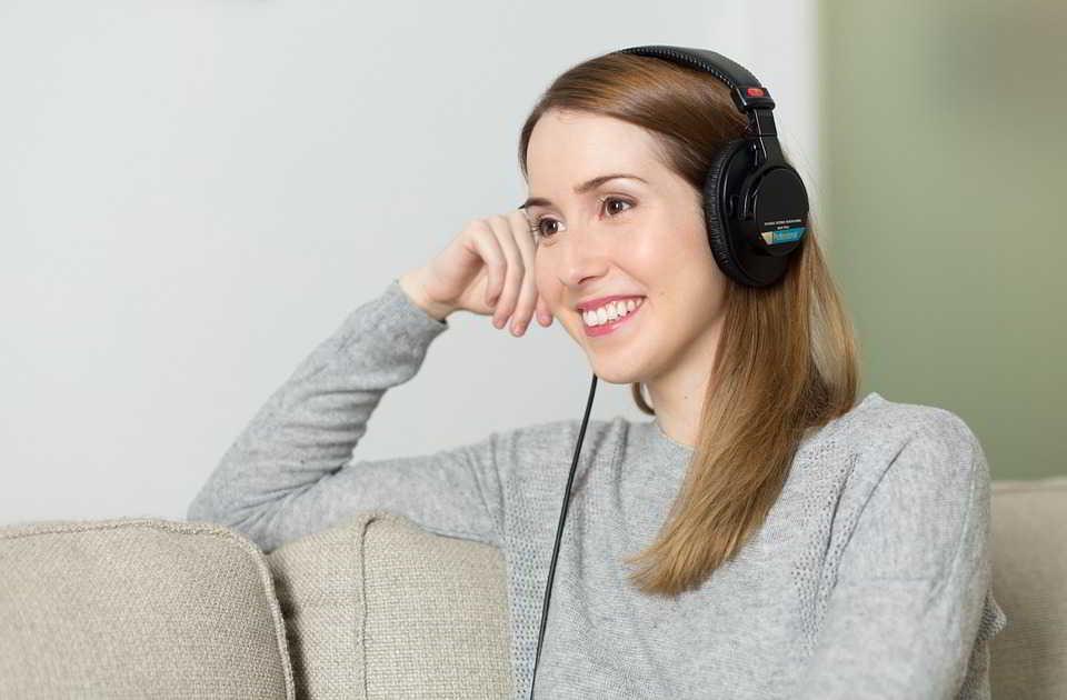 Lektura przez słuchawki